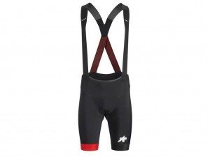 Spodenki Assos Equipe RS Bib Shorts S9 National Red