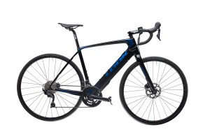 Rower Look 2021 E-765 Optimum Disc Metallic Blue Glossy 105 + WH-RS 171