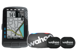 Licznik Wahoo Fitness Elemnt Roam GPS Bundle 2, czujnik Tickr 2, Cad, Speed