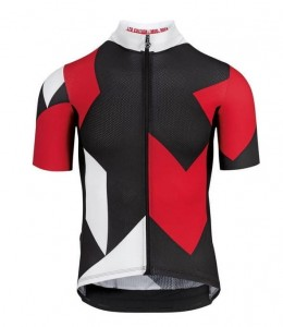 Koszulka Assos Fastline Rock SS Jersey National Red