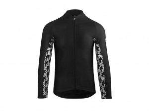 Bluza Assos Mille GT Spring Fall Long Sleeve Jersey black Series